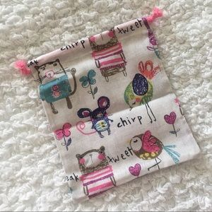 💕10 x 8.75 inches💕 Cute Animals Drawstring Bag